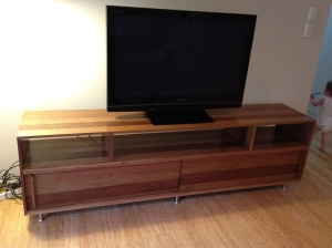 Reclaimed Timber Entertainment Unit
