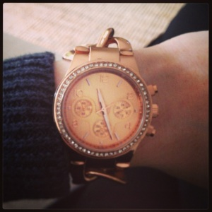Rose Gold Watch - Lovisa