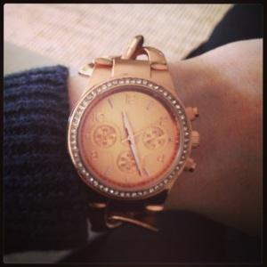 Rose Gold Watch - Lovisa